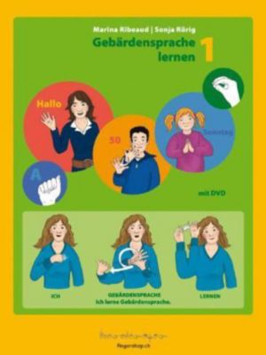 Gebärdensprache lernen, m. DVD, Marina Ribeaud