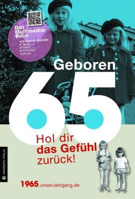 Geboren 65 - Das Multimedia-Buch, Elvira Lauscher