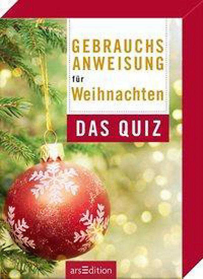 Gebrauchsanweisung für Weihnachten Spiel bestellen | Weltbild.de