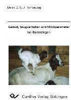 Geburt, Saugverhalten und Milchparameter bei Burenziegen, Daisy Tambajong