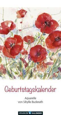 Geburtstagsblumen, Geburtstagskalender, Sibylle Buderath