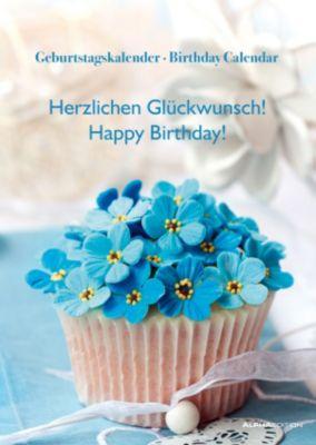 Geburtstagskalender Herzlichen Glückwunsch; Birthday Calendar Happy Birthday