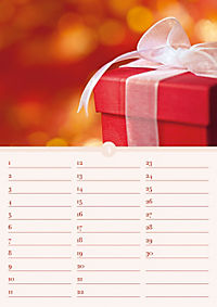 Geburtstagskalender Herzlichen Glückwunsch; Birthday Calendar Happy Birthday - Produktdetailbild 4