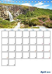 Geburtstagsplaner - Neuseelands Natur (Tischkalender 2019 DIN A5 hoch) - Produktdetailbild 4