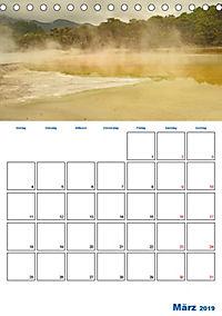 Geburtstagsplaner - Neuseelands Natur (Tischkalender 2019 DIN A5 hoch) - Produktdetailbild 3