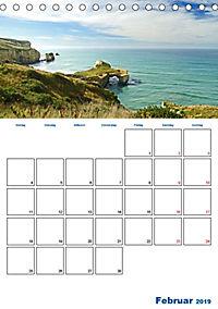 Geburtstagsplaner - Neuseelands Natur (Tischkalender 2019 DIN A5 hoch) - Produktdetailbild 2