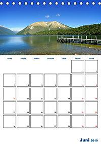 Geburtstagsplaner - Neuseelands Natur (Tischkalender 2019 DIN A5 hoch) - Produktdetailbild 6