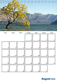 Geburtstagsplaner - Neuseelands Natur (Tischkalender 2019 DIN A5 hoch) - Produktdetailbild 8