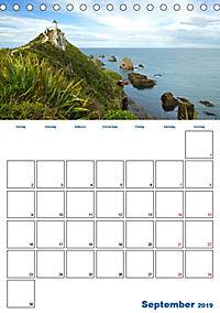 Geburtstagsplaner - Neuseelands Natur (Tischkalender 2019 DIN A5 hoch) - Produktdetailbild 9