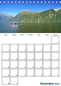 Geburtstagsplaner - Neuseelands Natur (Tischkalender 2019 DIN A5 hoch) - Produktdetailbild 12