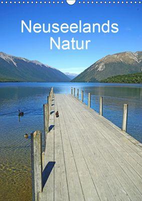 Geburtstagsplaner - Neuseelands Natur (Wandkalender 2019 DIN A3 hoch), Beate Bussenius