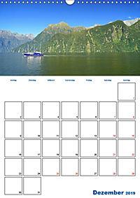 Geburtstagsplaner - Neuseelands Natur (Wandkalender 2019 DIN A3 hoch) - Produktdetailbild 12