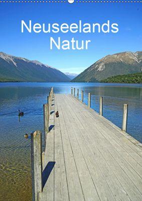 Geburtstagsplaner - Neuseelands Natur (Wandkalender 2019 DIN A2 hoch), Beate Bussenius