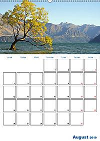 Geburtstagsplaner - Neuseelands Natur (Wandkalender 2019 DIN A2 hoch) - Produktdetailbild 8