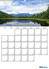 Geburtstagsplaner - Neuseelands Natur (Wandkalender 2019 DIN A2 hoch) - Produktdetailbild 5
