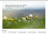 Gedanken... Bildkalender mit Sprüchen (Wandkalender 2019 DIN A3 quer) - Produktdetailbild 5