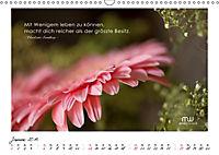Gedanken... Bildkalender mit Sprüchen (Wandkalender 2019 DIN A3 quer) - Produktdetailbild 1