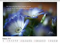 Gedanken... Bildkalender mit Sprüchen (Wandkalender 2019 DIN A3 quer) - Produktdetailbild 2