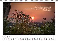 Gedanken... Bildkalender mit Sprüchen (Wandkalender 2019 DIN A3 quer) - Produktdetailbild 8