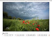 Gedanken... Bildkalender mit Sprüchen (Wandkalender 2019 DIN A3 quer) - Produktdetailbild 6