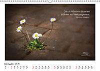 Gedanken... Bildkalender mit Sprüchen (Wandkalender 2019 DIN A3 quer) - Produktdetailbild 11