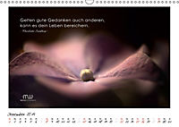 Gedanken... Bildkalender mit Sprüchen (Wandkalender 2019 DIN A3 quer) - Produktdetailbild 12