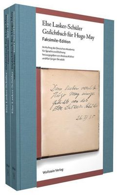 Gedichtbuch für Hugo May, 2 Bde. - Else Lasker-Schüler |