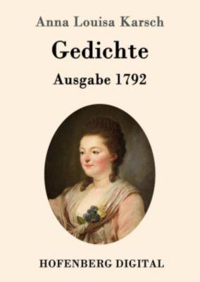 Gedichte (Ausgabe 1792), Anna Louisa Karsch
