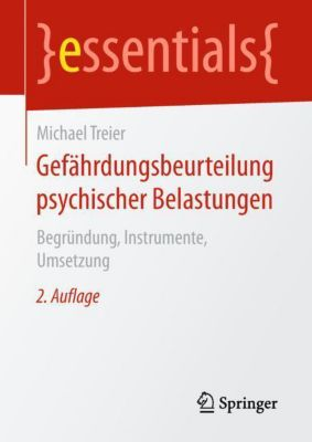 Gefährdungsbeurteilung psychischer Belastungen - Michael Treier pdf epub