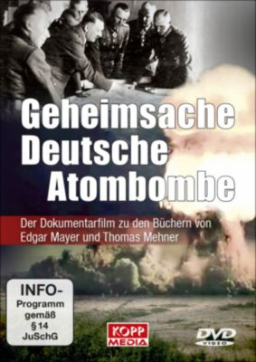 Geheimsache Deutsche Atombombe, DVD