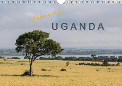 Geheimtipp Uganda (Wandkalender 2019 DIN A4 quer), Roswitha Irmer