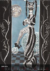 Geisha Asia Japan Pin-up Kalender (Wandkalender 2019 DIN A2 hoch) - Produktdetailbild 6