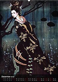 Geisha Asia Japan Pin-up Kalender (Wandkalender 2019 DIN A2 hoch) - Produktdetailbild 12
