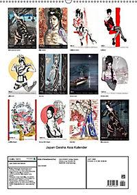 Geisha Asia Japan Pin-up Kalender (Wandkalender 2019 DIN A2 hoch) - Produktdetailbild 13