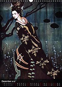 Geisha Asia Japan Pin-up Kalender (Wandkalender 2019 DIN A3 hoch) - Produktdetailbild 12