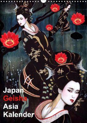 Geisha Asia Japan Pin-up Kalender (Wandkalender 2019 DIN A3 hoch), Sara Horwath Burlesque up your wall