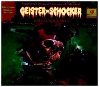 Geister-Schocker Collector's Box, 3 Audio-CDs, Geister-Schocker