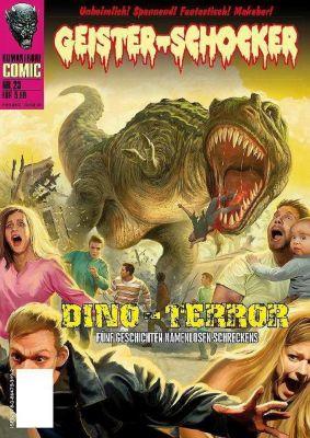 Geister-Schocker-Comic - Dino-Terror - Joachim Otto |