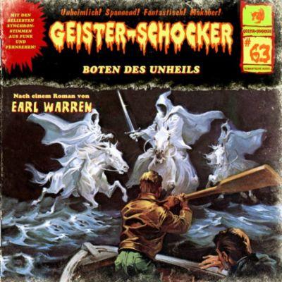 Geister-Schocker: Geister-Schocker, Folge 63: Boten des Unheils, Earl Warron