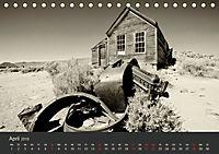 Geisterstadt Bodie - Relikt aus dem Goldrausch (schwarz-weiss) (Tischkalender 2019 DIN A5 quer) - Produktdetailbild 4