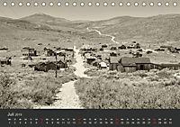 Geisterstadt Bodie - Relikt aus dem Goldrausch (schwarz-weiss) (Tischkalender 2019 DIN A5 quer) - Produktdetailbild 7