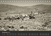 Geisterstadt Bodie - Relikt aus dem Goldrausch (schwarz-weiss) (Tischkalender 2019 DIN A5 quer) - Produktdetailbild 11