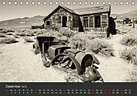 Geisterstadt Bodie - Relikt aus dem Goldrausch (schwarz-weiss) (Tischkalender 2019 DIN A5 quer) - Produktdetailbild 12
