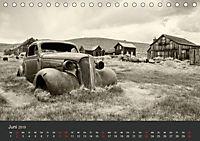 Geisterstadt Bodie - Relikt aus dem Goldrausch (schwarz-weiss) (Tischkalender 2019 DIN A5 quer) - Produktdetailbild 6