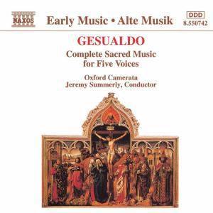 Geistl.Werke Für 5 Stimmen, J. Summerly, Oxford Camerata