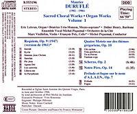 Geistliche Chorwerke/Orgelwerke Vol. 1 - Produktdetailbild 1