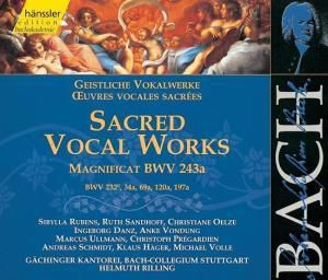 Geistliche Vokalwerke, Johann Sebastian Bach