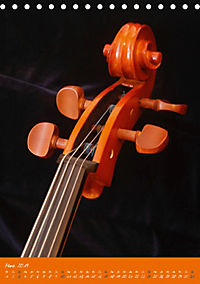 Geliebtes Cello (Tischkalender 2019 DIN A5 hoch) - Produktdetailbild 3