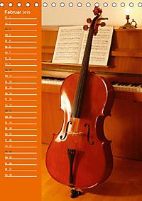 Geliebtes Cello (Tischkalender 2019 DIN A5 hoch) - Produktdetailbild 2