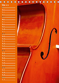Geliebtes Cello (Tischkalender 2019 DIN A5 hoch) - Produktdetailbild 5